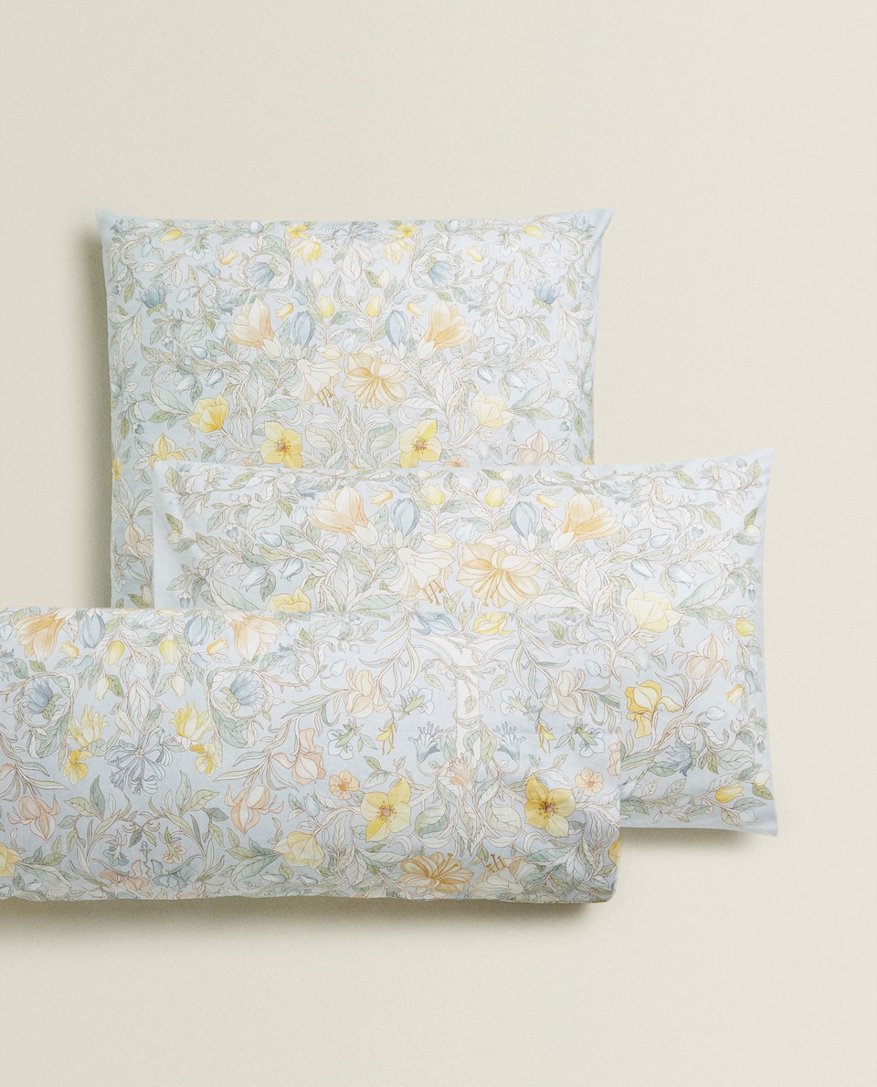 FLORAL PRINT PILLOWCASE