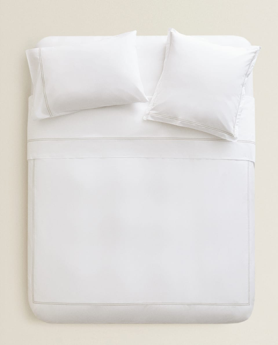 DOUBLE BORDER DUVET COVER