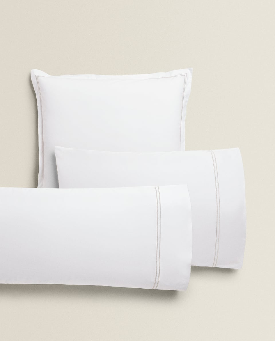 DOUBLE BORDER PILLOWCASE