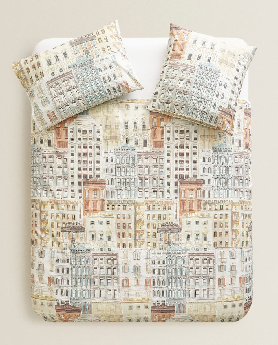 Copripiumino Matrimoniale Zara Home.Printed Duvet Cover See All Inserts Bedroom Zara Home