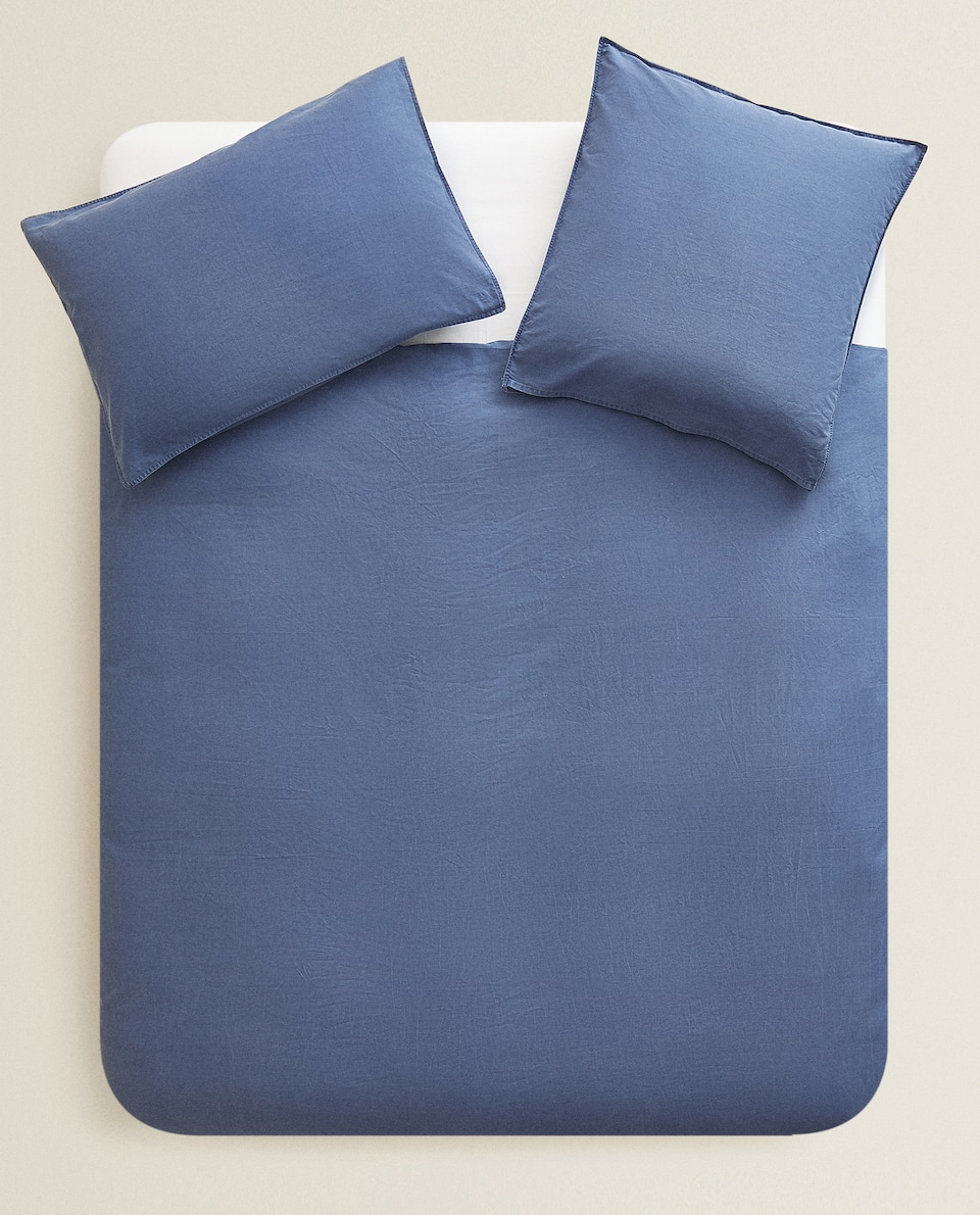 WASHED COTTON DUVET COVER