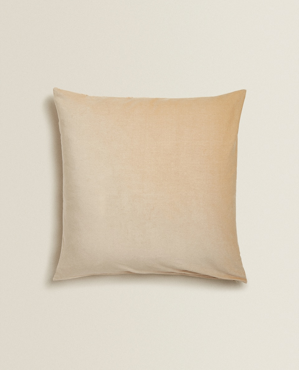 VELVET CUSHION COVER