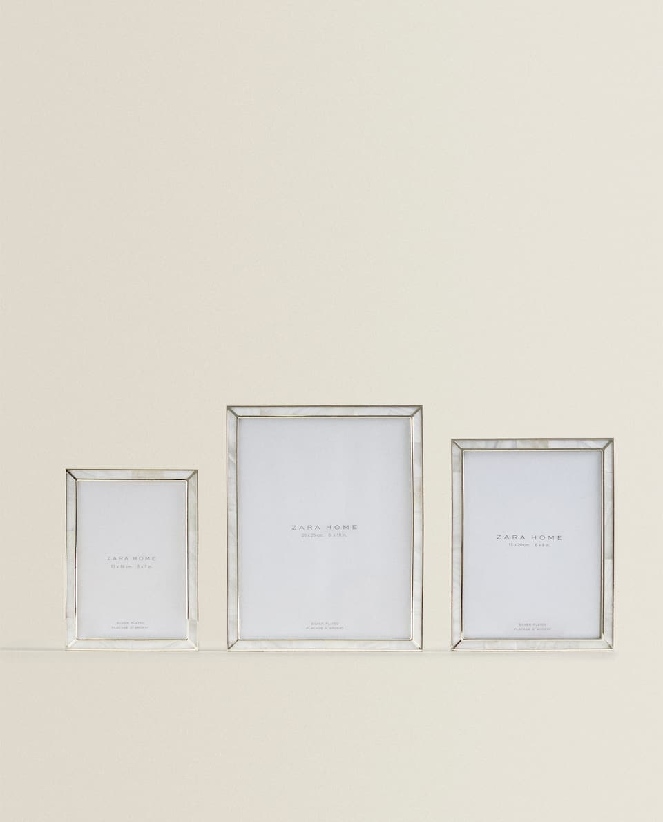 Fine-edge frame
