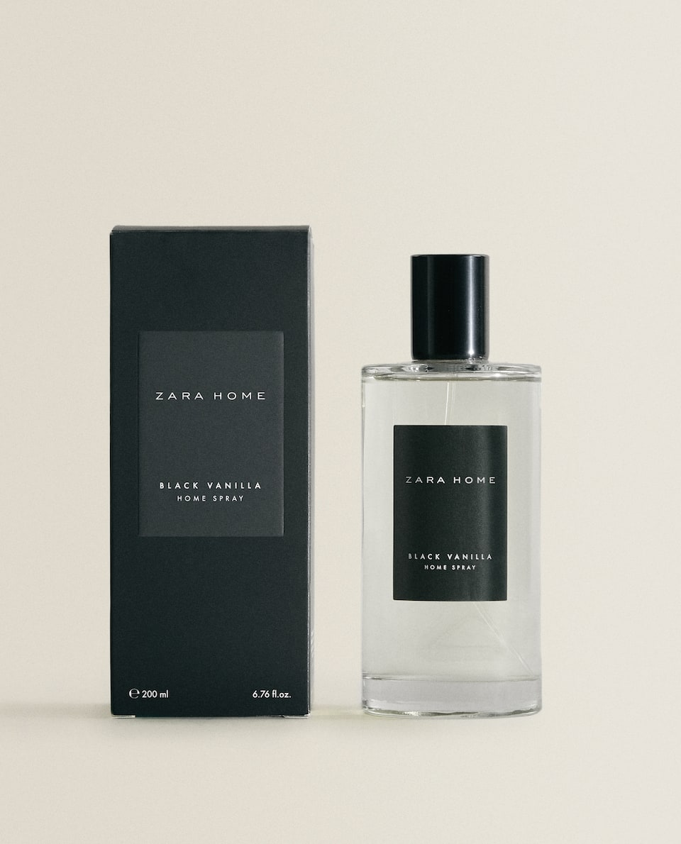 (200 ML) AMBIENTADOR EN SPRAY BLACK VANILLA