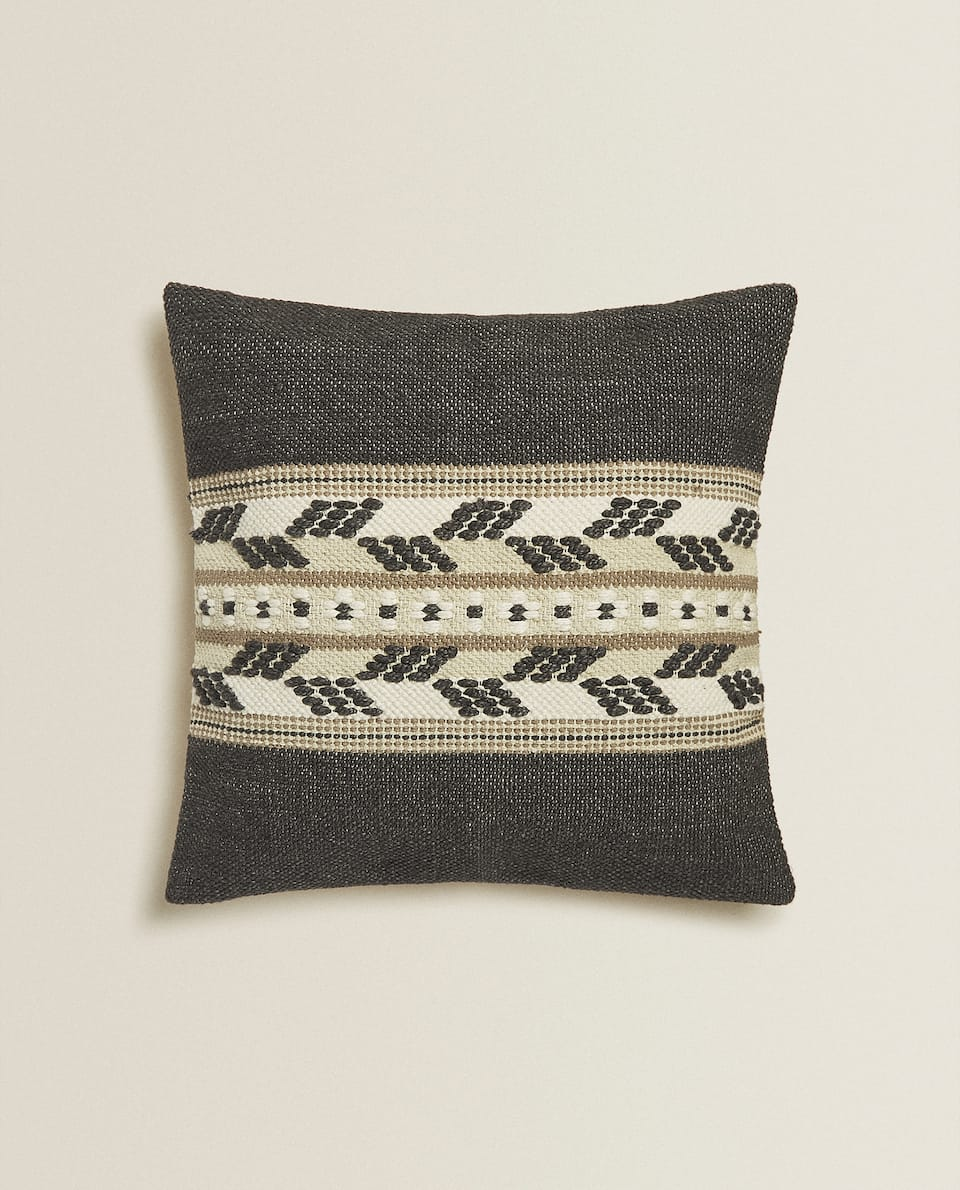 RUG-STYLE CUSHION COVER