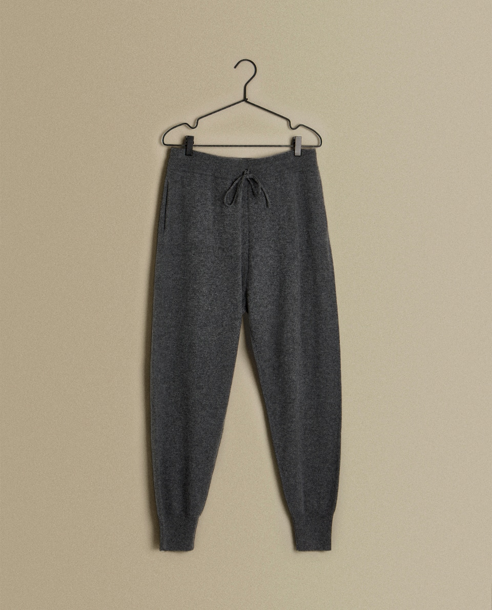 CASHMERE JOGGING TROUSERS