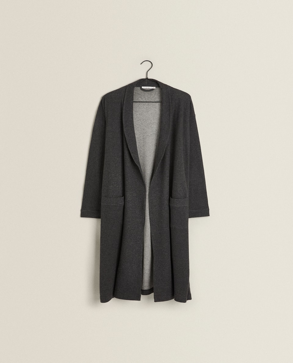 MELANGE DRESSING GOWN