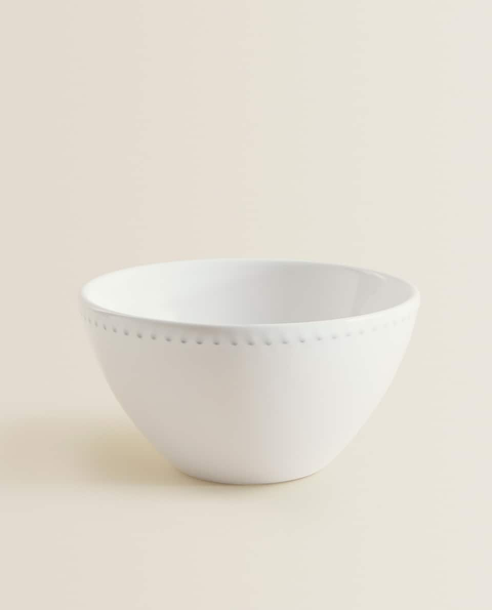 RAISED-EDGE BOWL