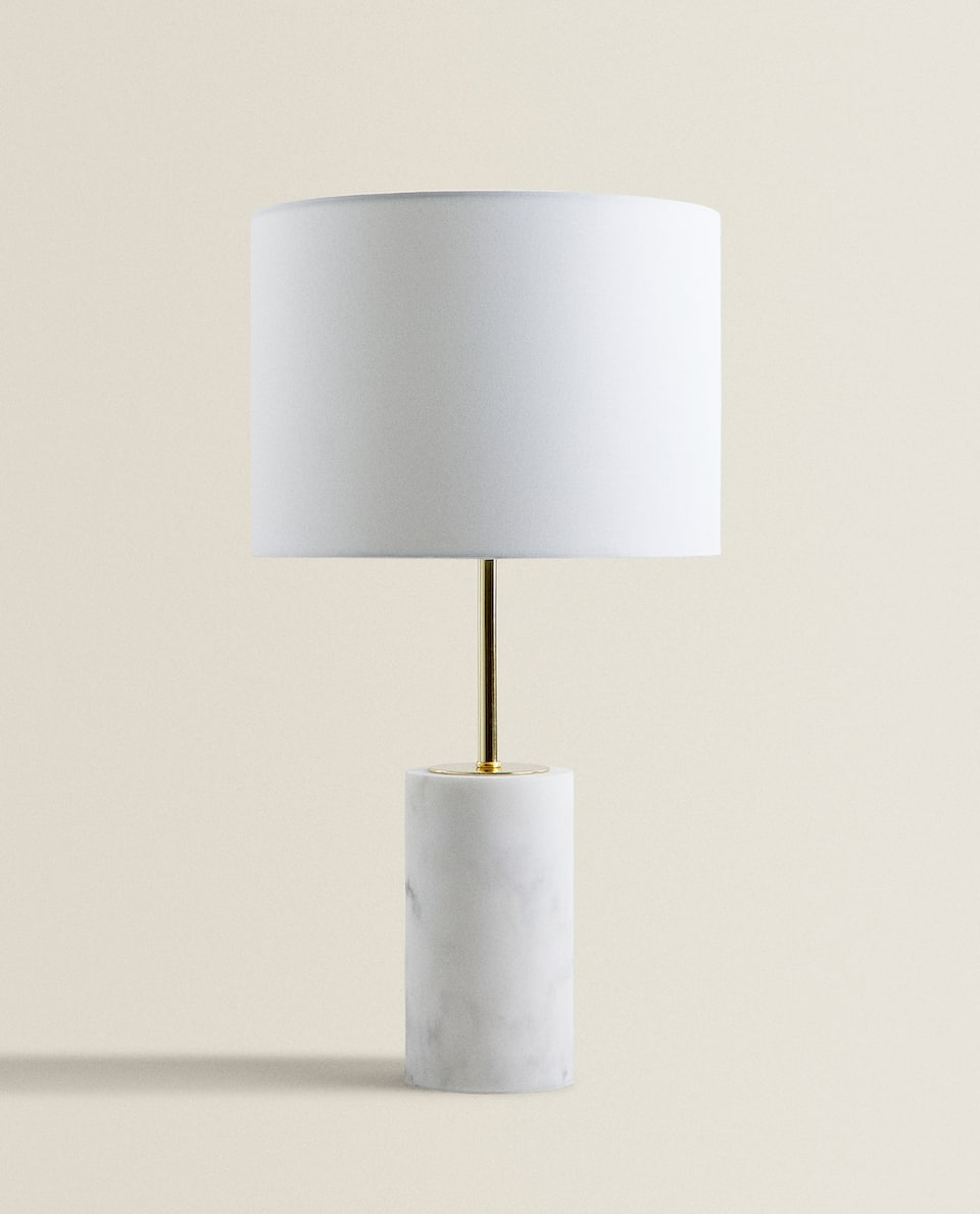 MARBLE-EFFECT LAMP
