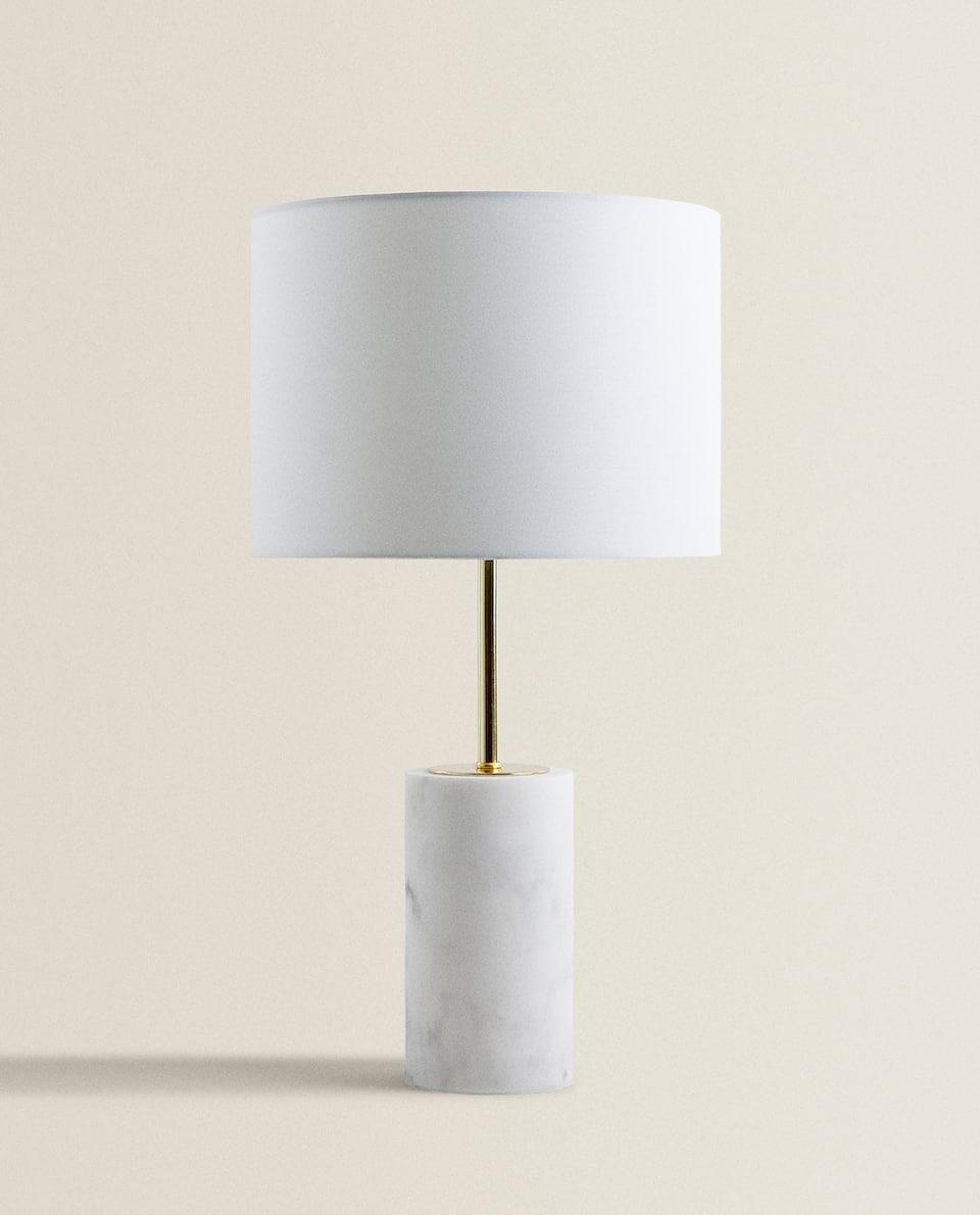LAMPE IN MARMOROPTIK