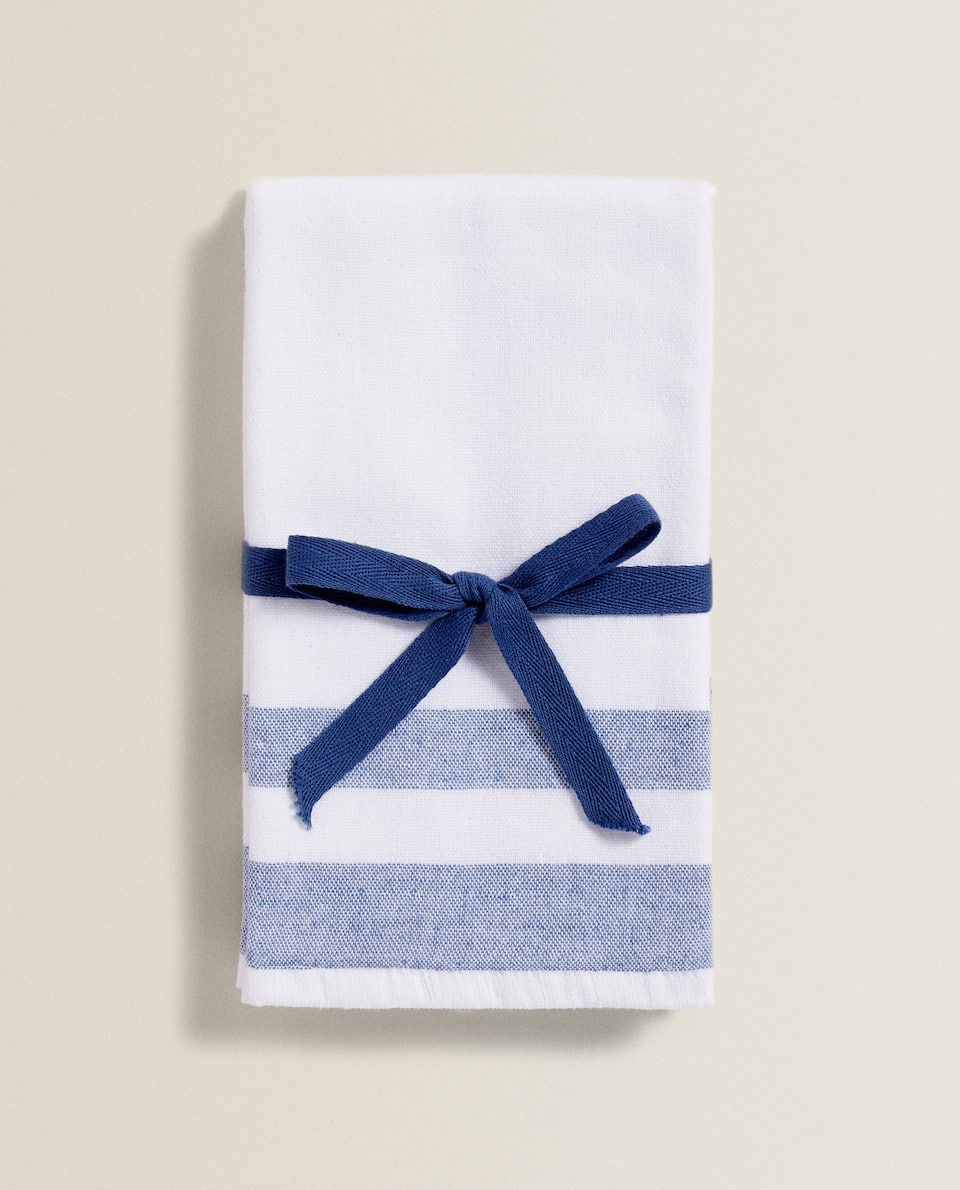 DOUBLE-SIDED COTTON TOWEL (PACK OF 2)