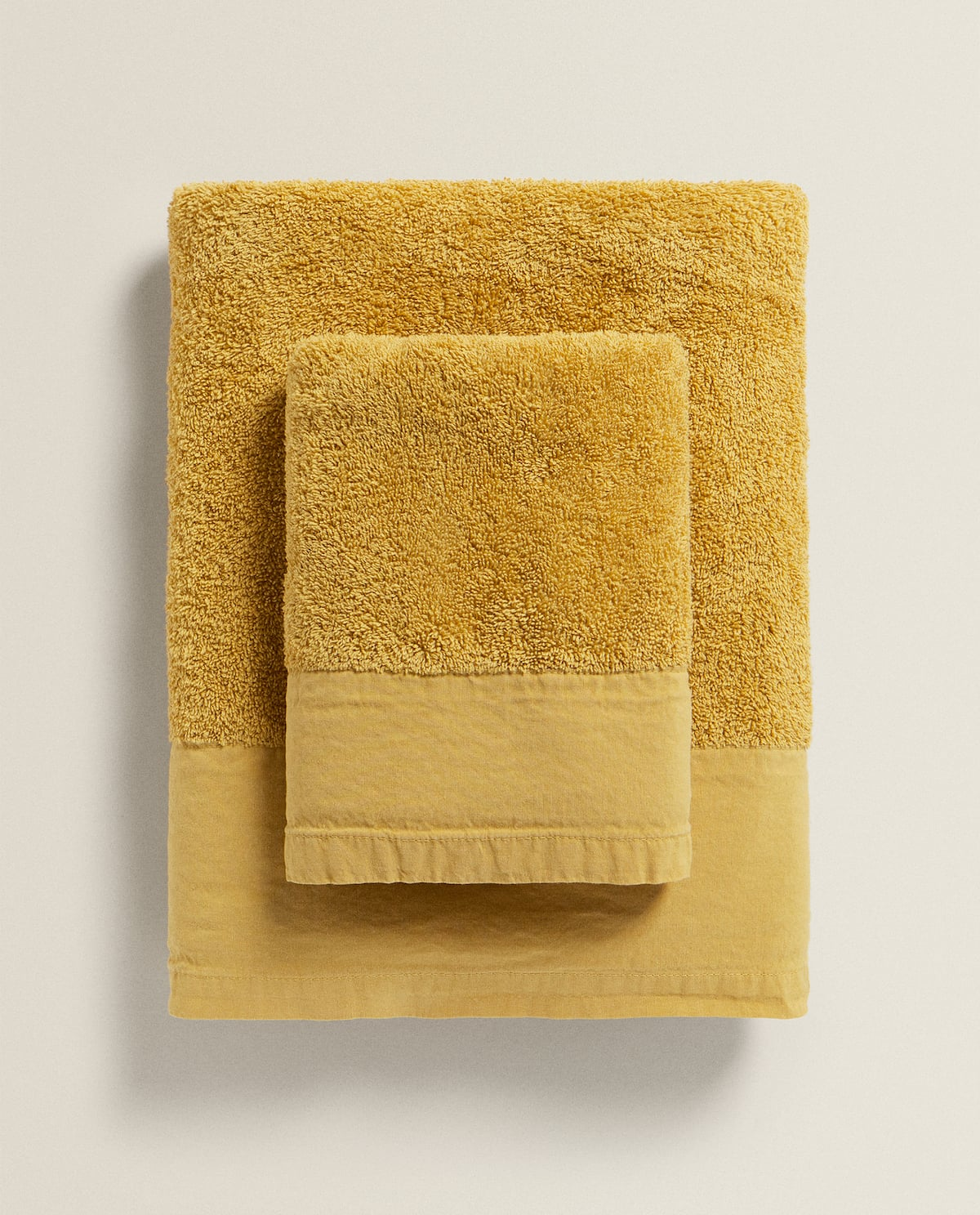 washedeffect-towel---towels---bathroom by zara-home
