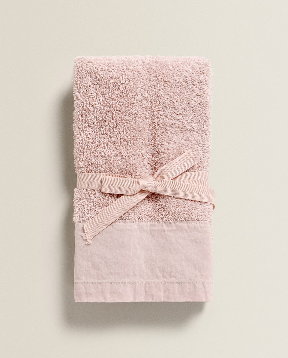 WASHED EFFECT TOWEL (PACK OF 2)