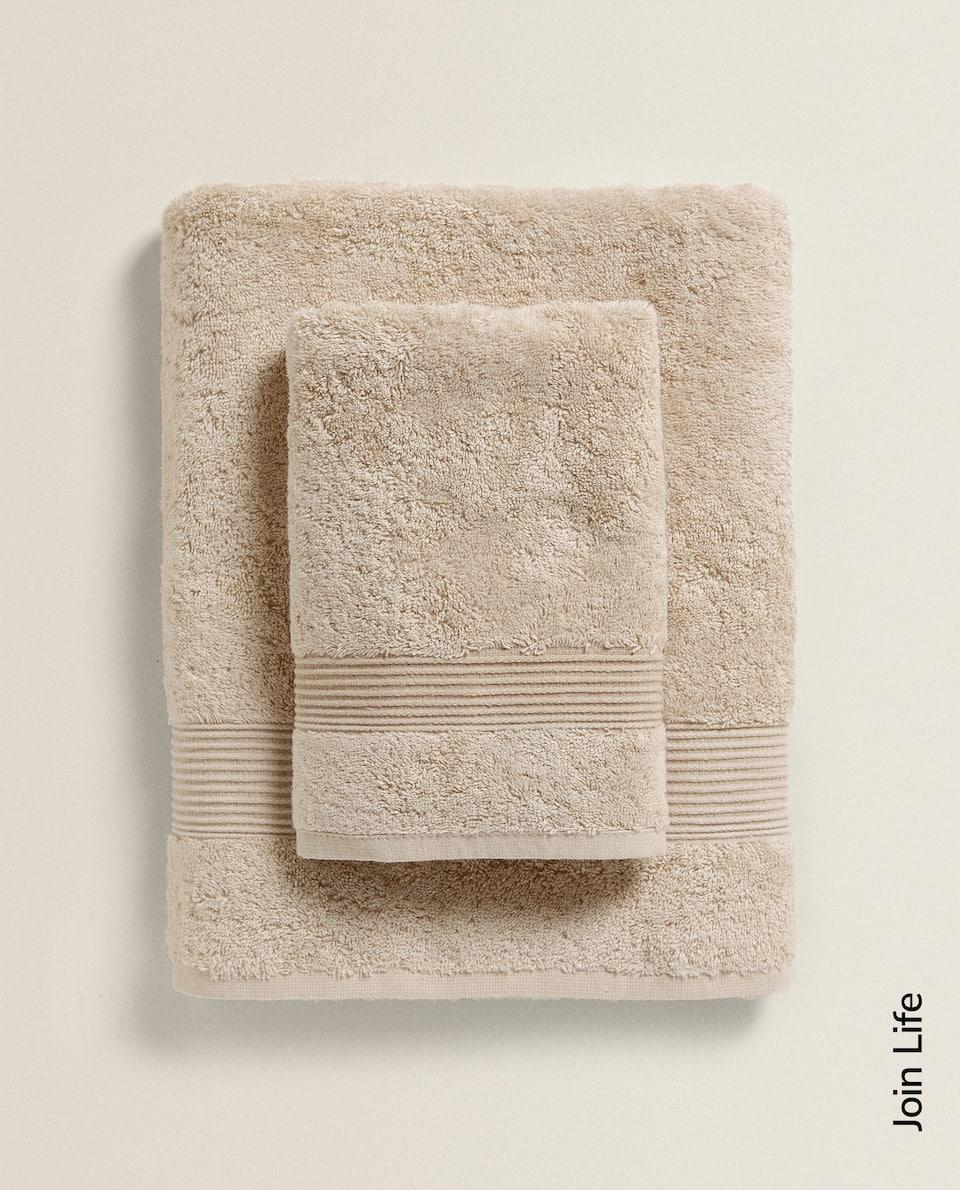 منشفة من القطن الإيكولوجي