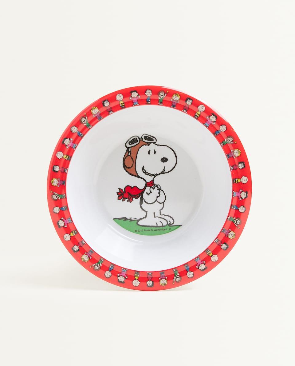 Bol din melamină cu Snoopy