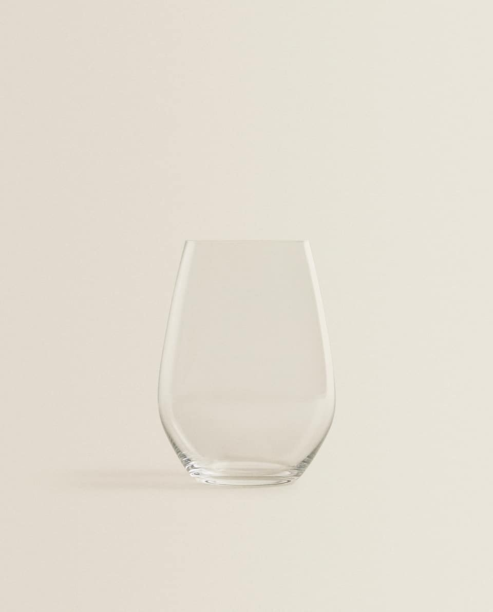 OVAL CRYSTALLINE WINE GLASS