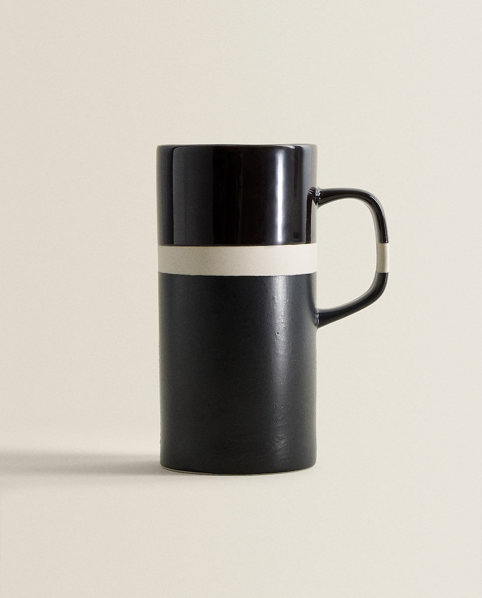 TALL THREE-TONE MUG
