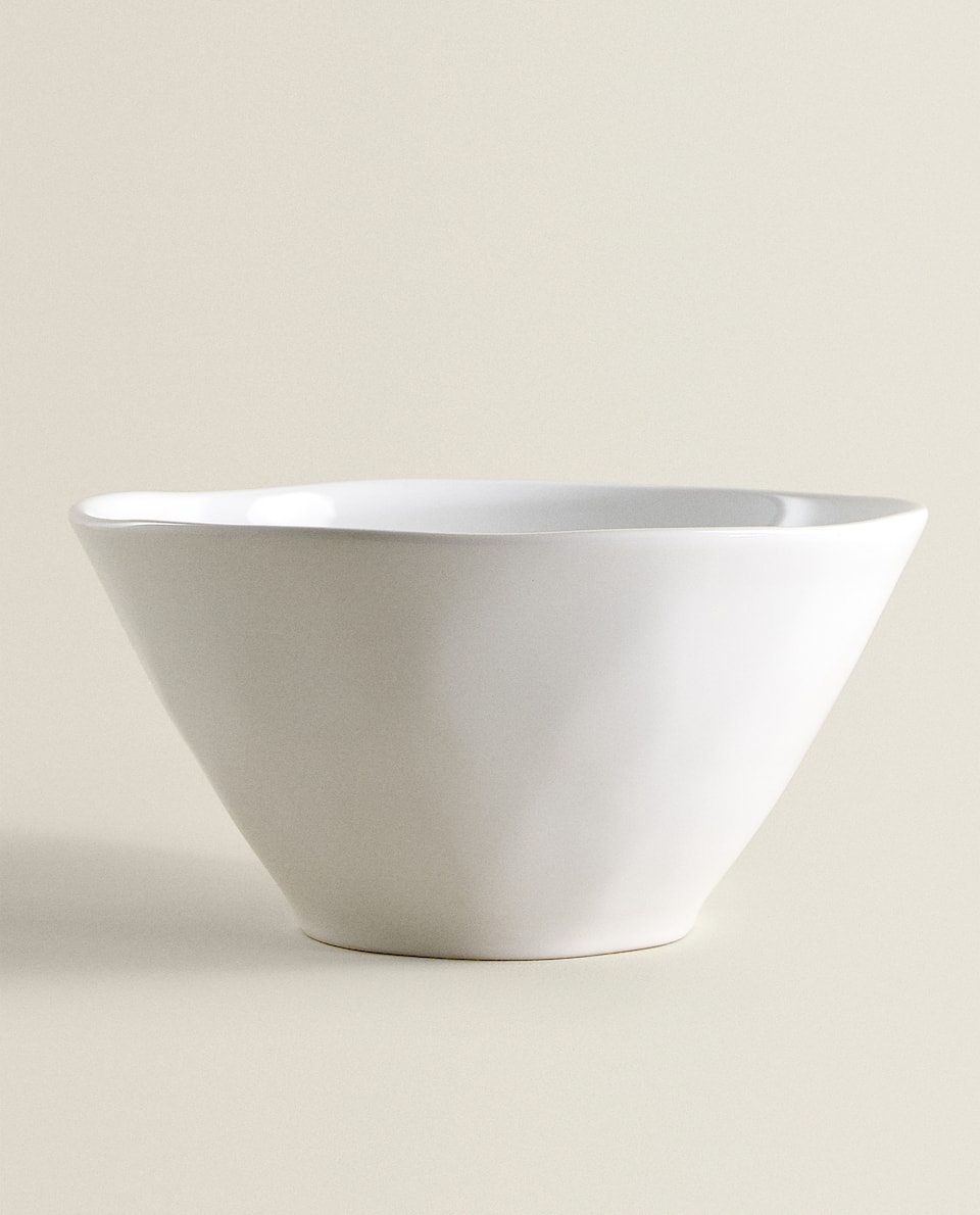 EARTHENWARE SALAD BOWL
