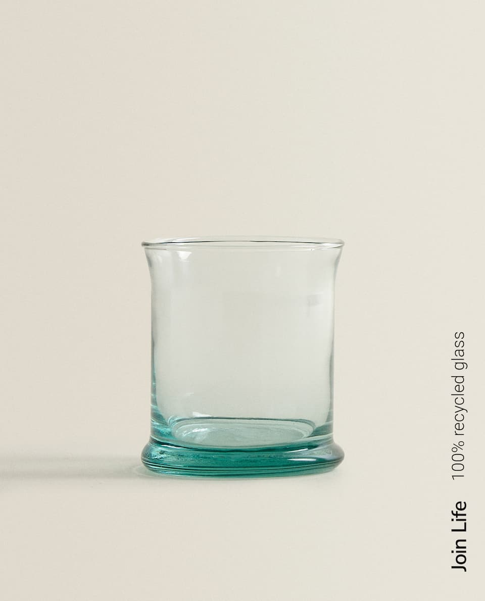 100% RECYCLED GLASS TUMBLER