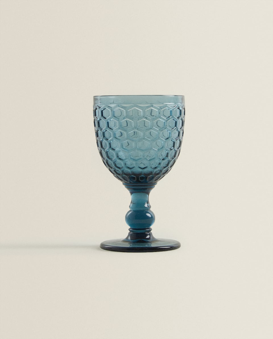 HONEYCOMB WINE GLASS