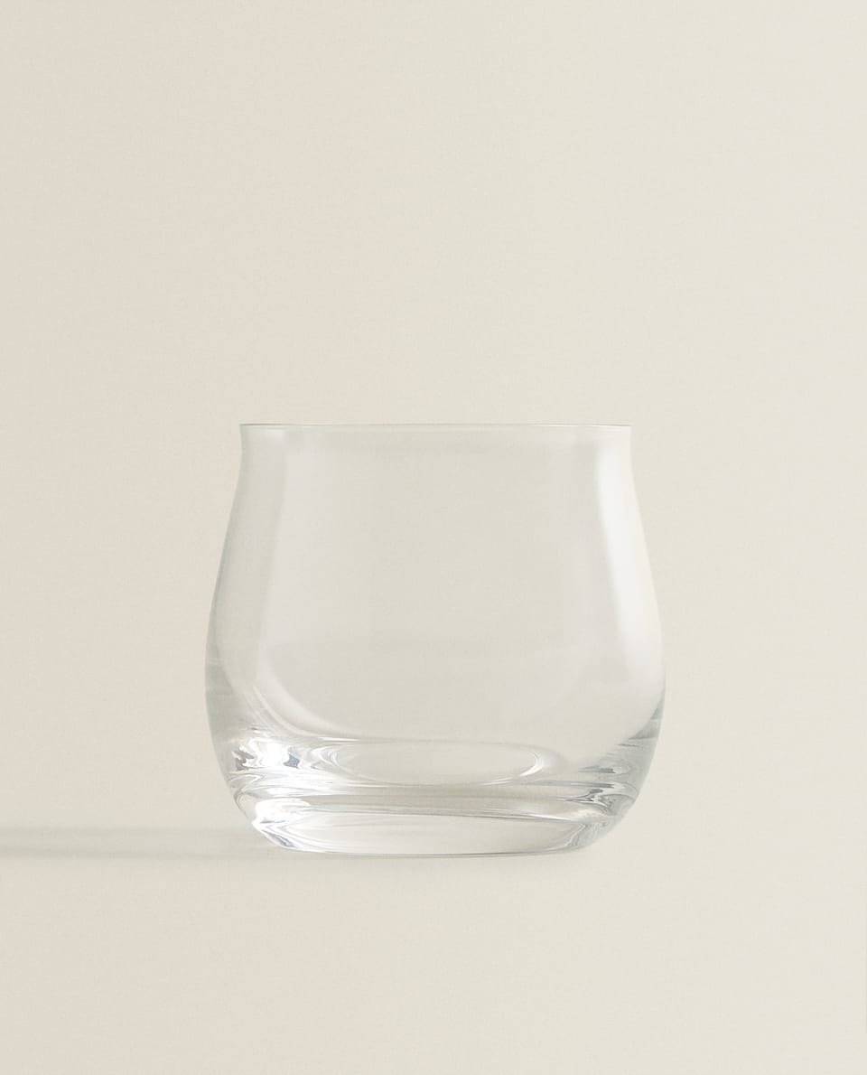 CRYSTALLINE WATER TUMBLER