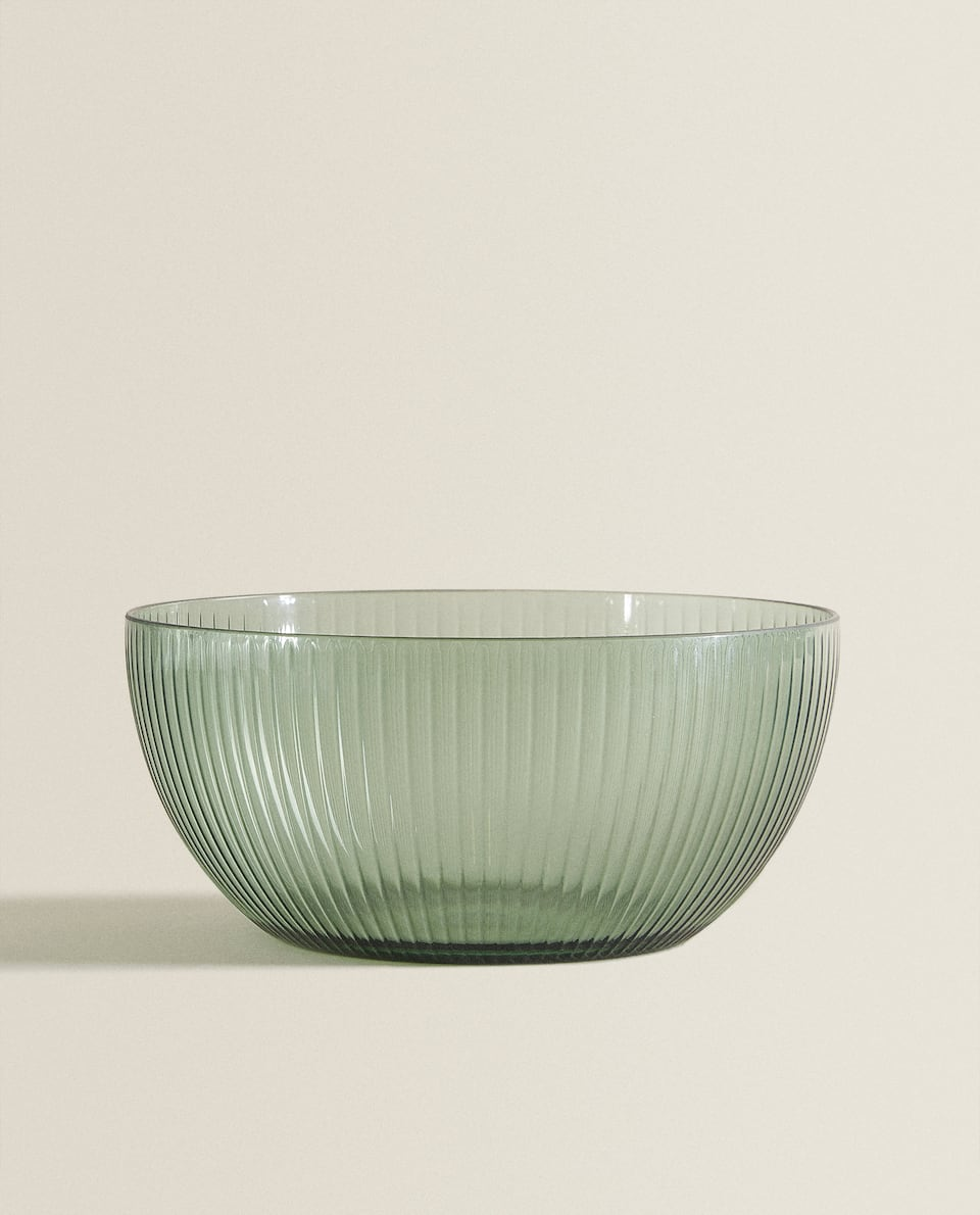 ACRYLIC SALAD BOWL