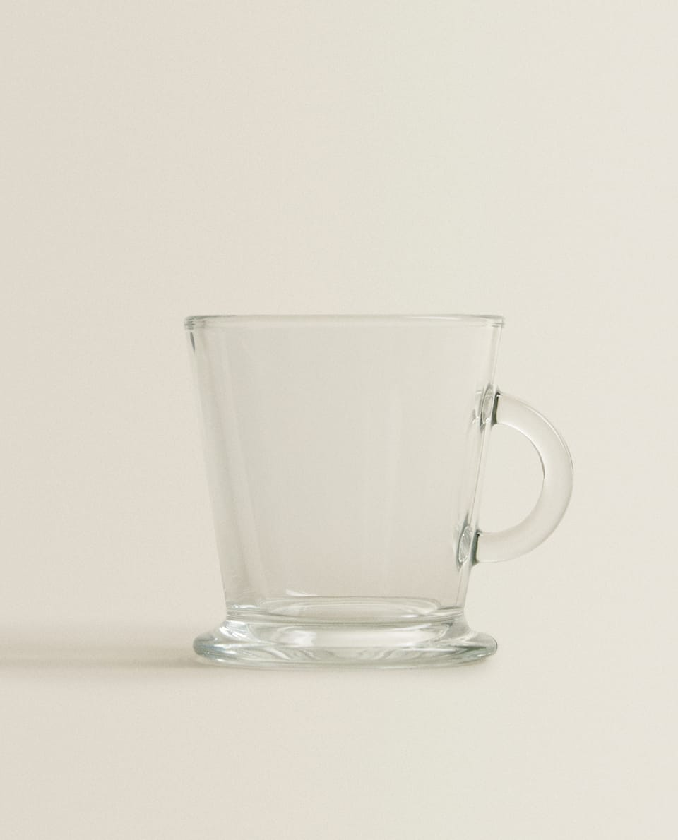GLASS CAPPUCCINO CUP