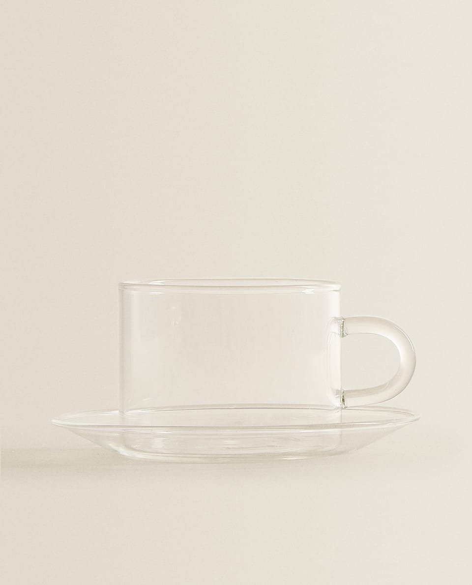 BOROSILICATE GLASS BREAKFAST MUG