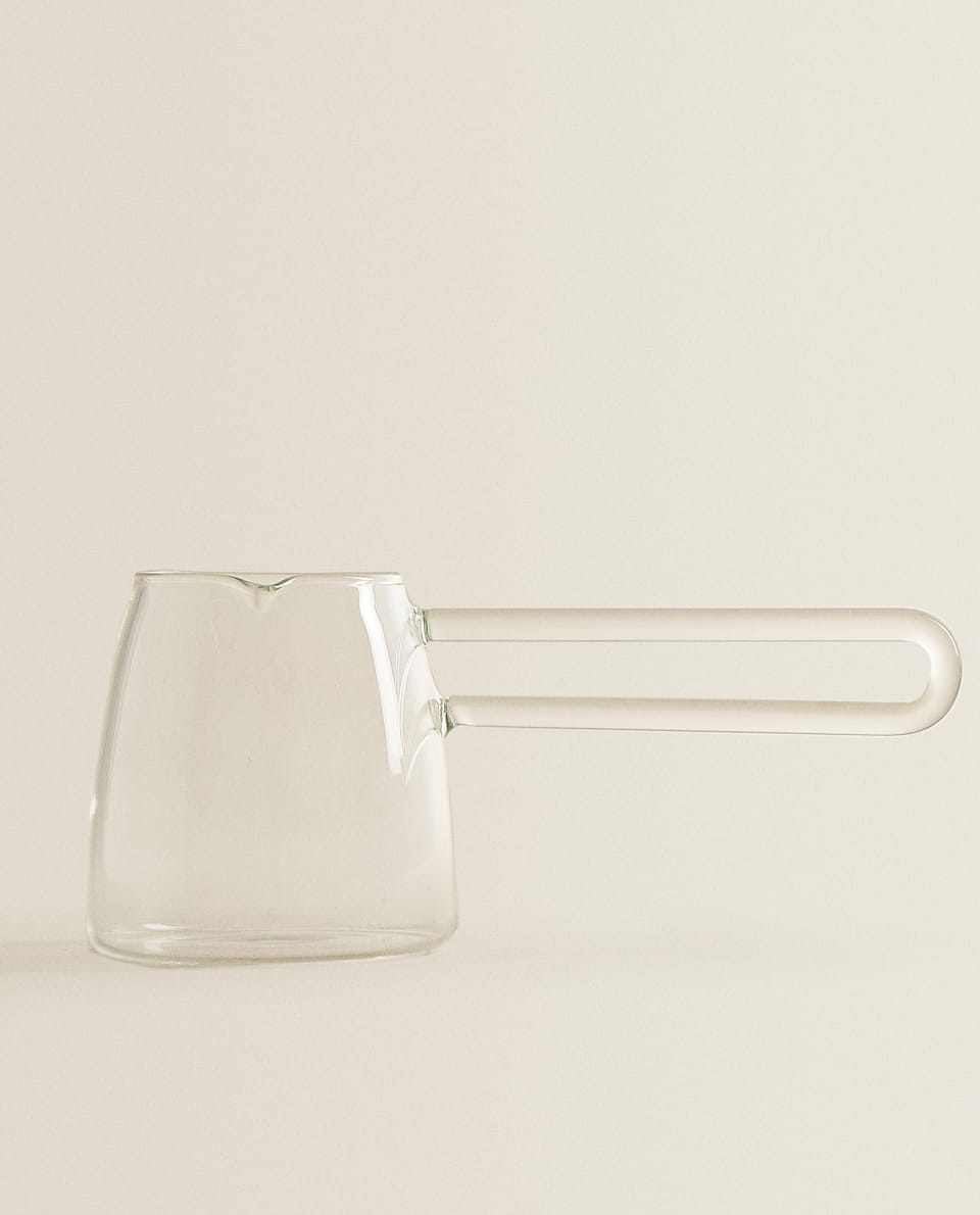 BOROSILICATE GLASS MILK JUG