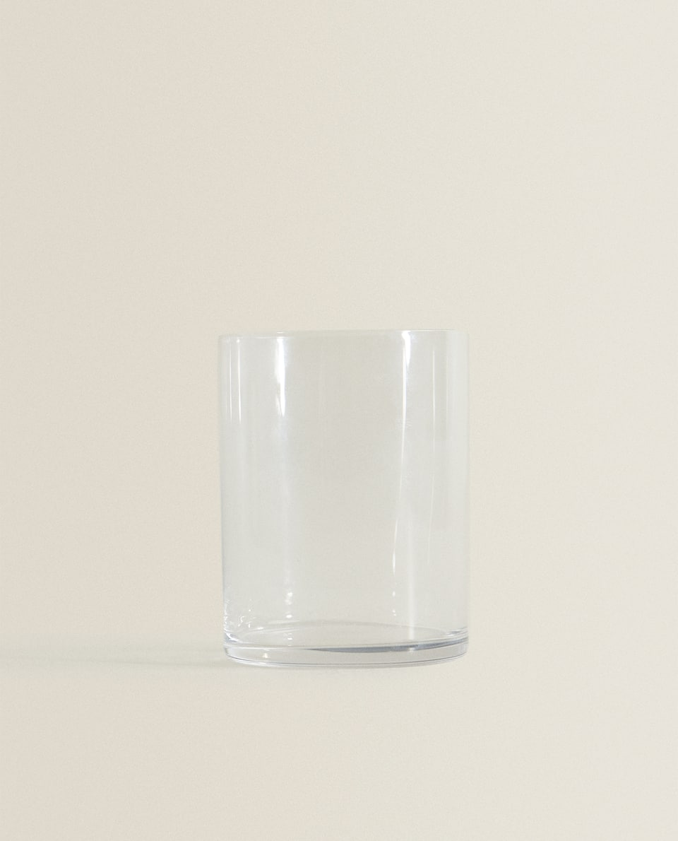 STRAIGHT GLASS TUMBLER