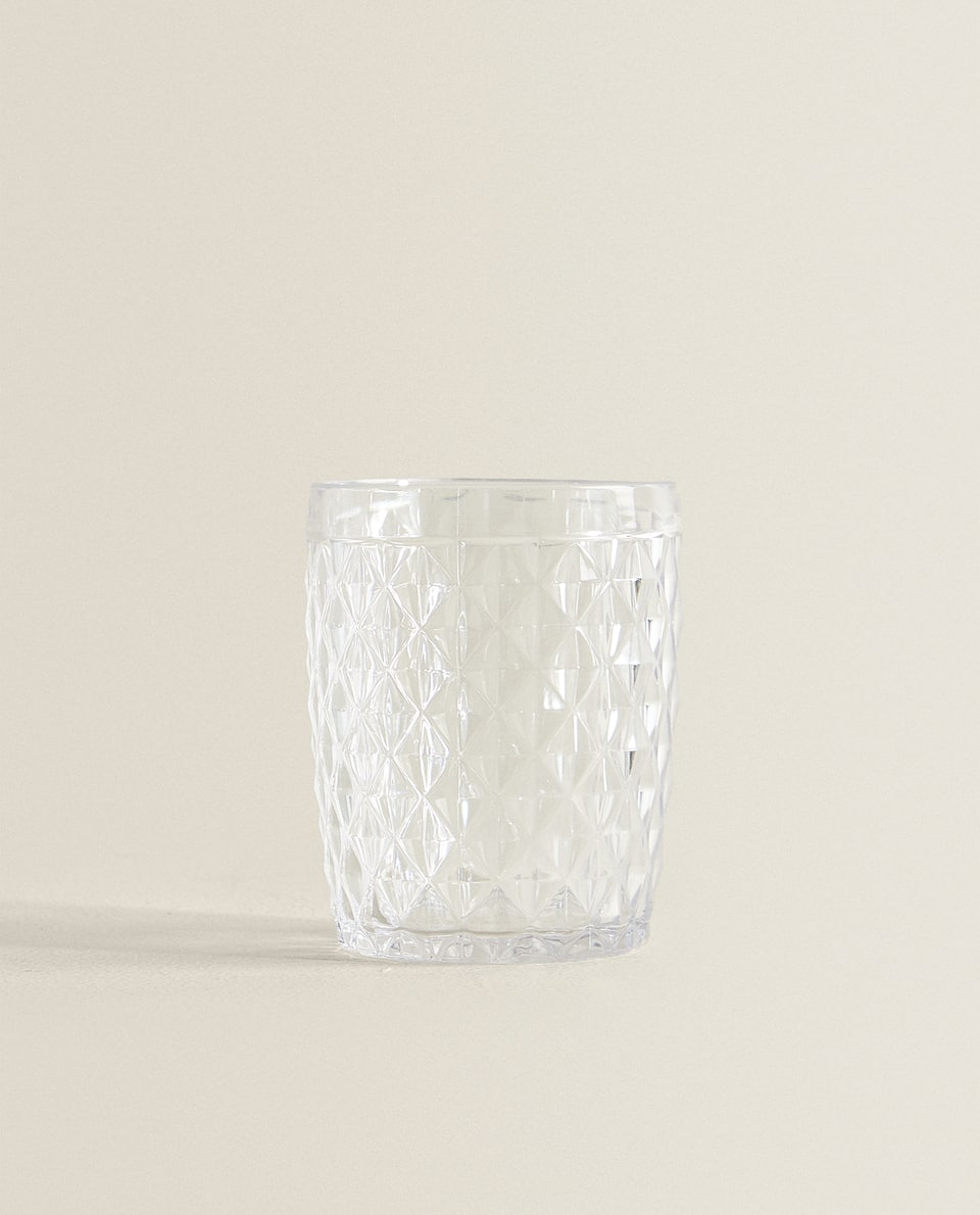 DIAMOND DESIGN TUMBLER