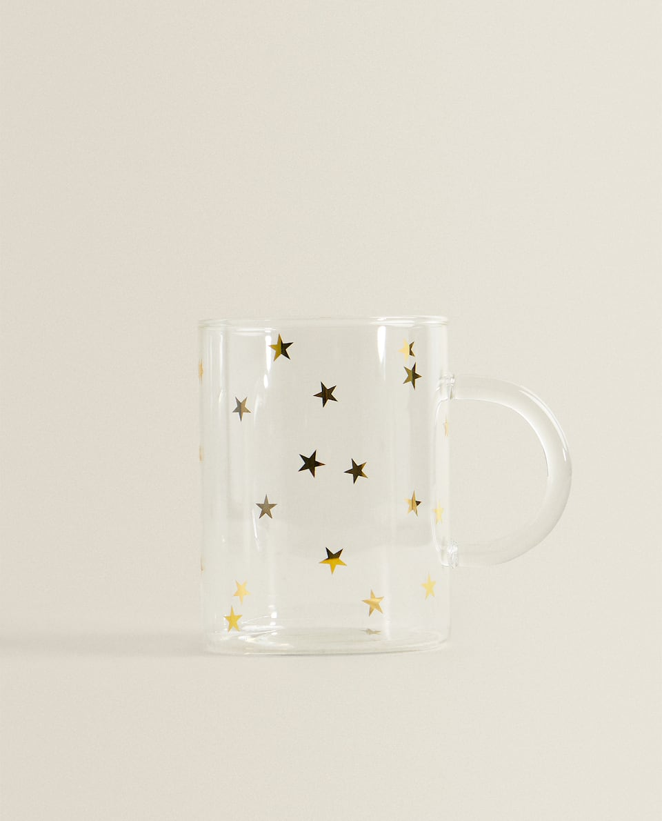 STAR BOROSILICATE GLASS MUG