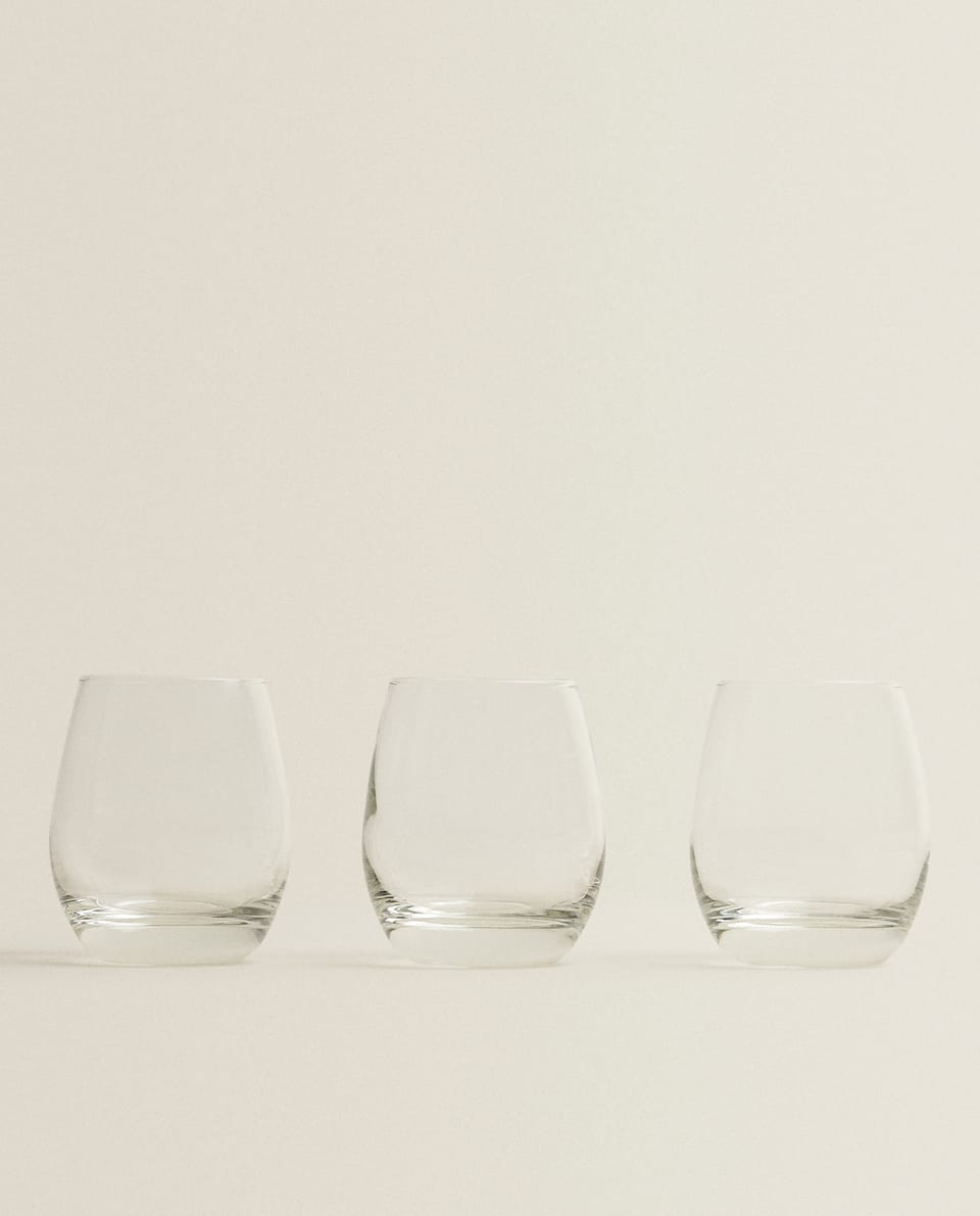 GLASS TUMBLER (SET OF 3)