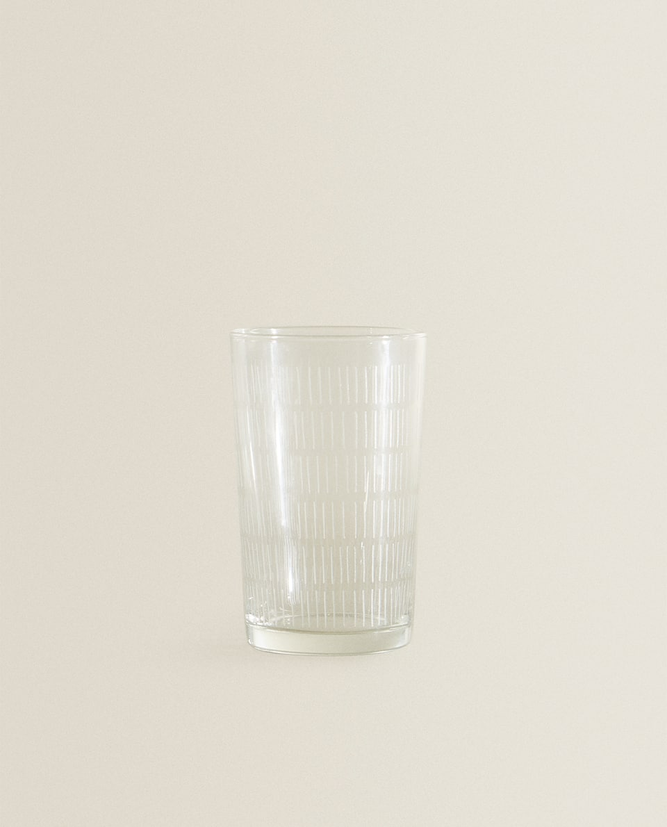 LINEAR CUT WATER TUMBLER