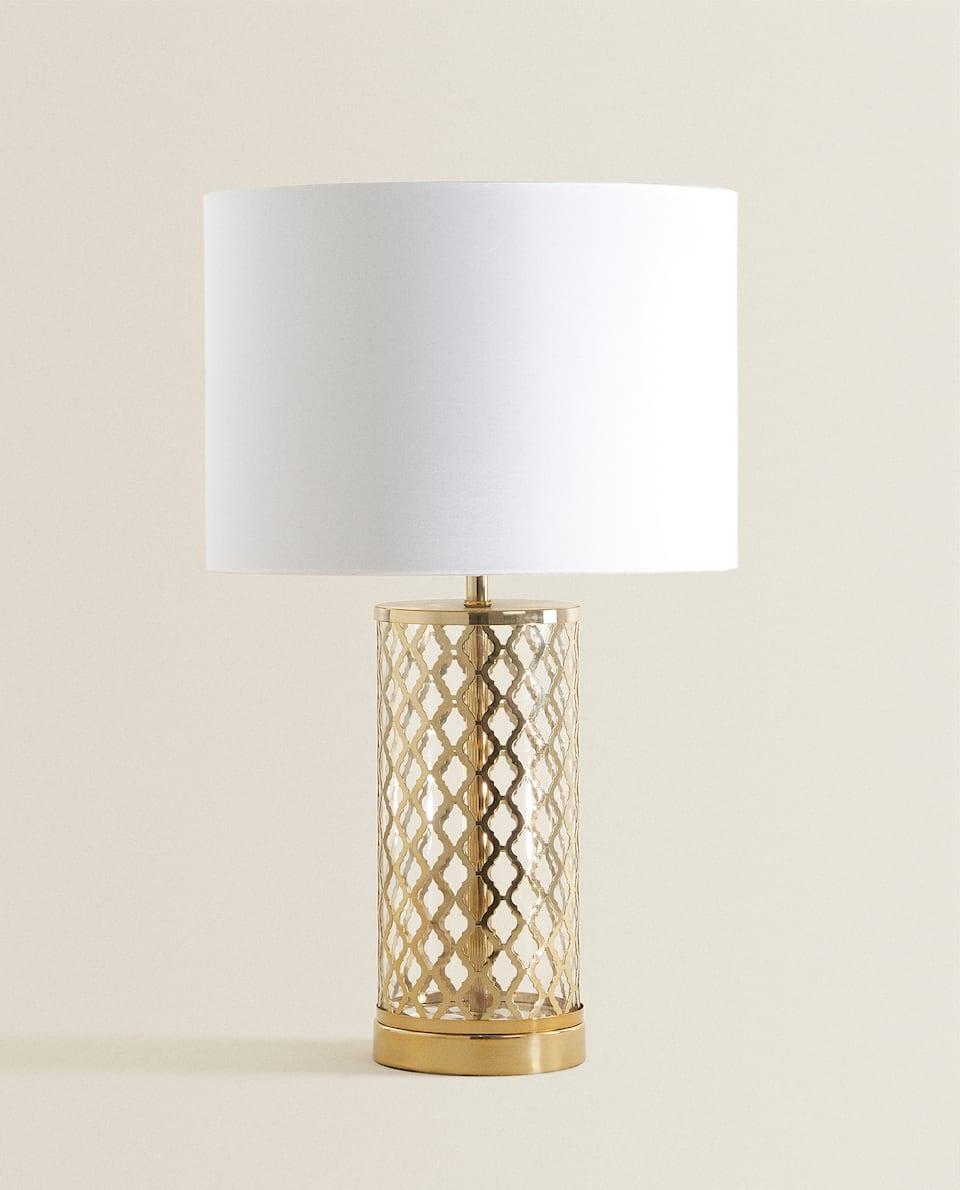 OPENWORK METAL LAMP
