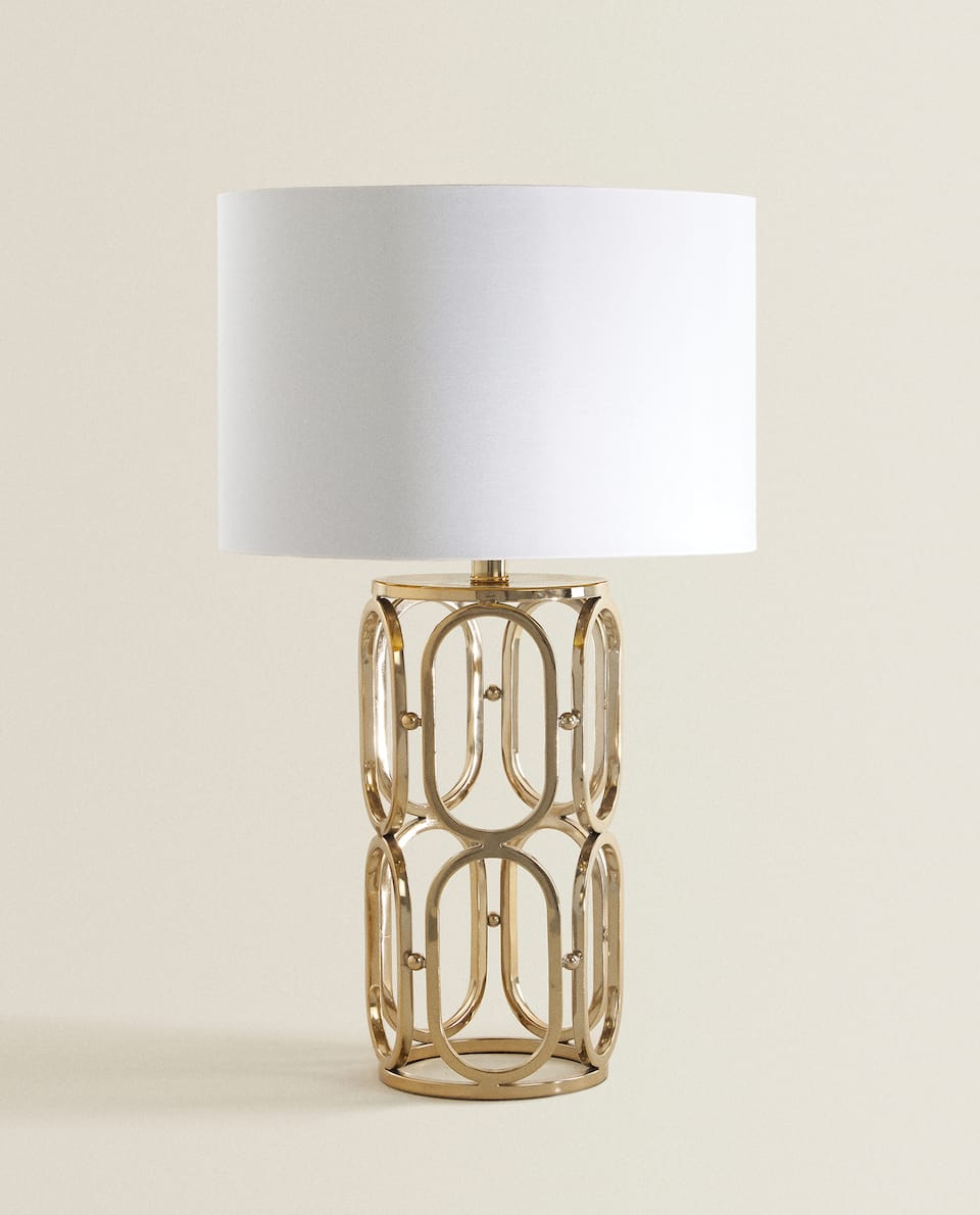 GOLD METAL LAMP