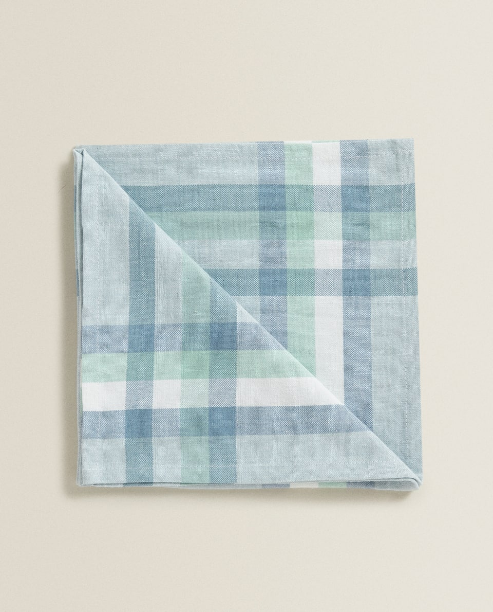 GEOMETRIC COTTON NAPKIN