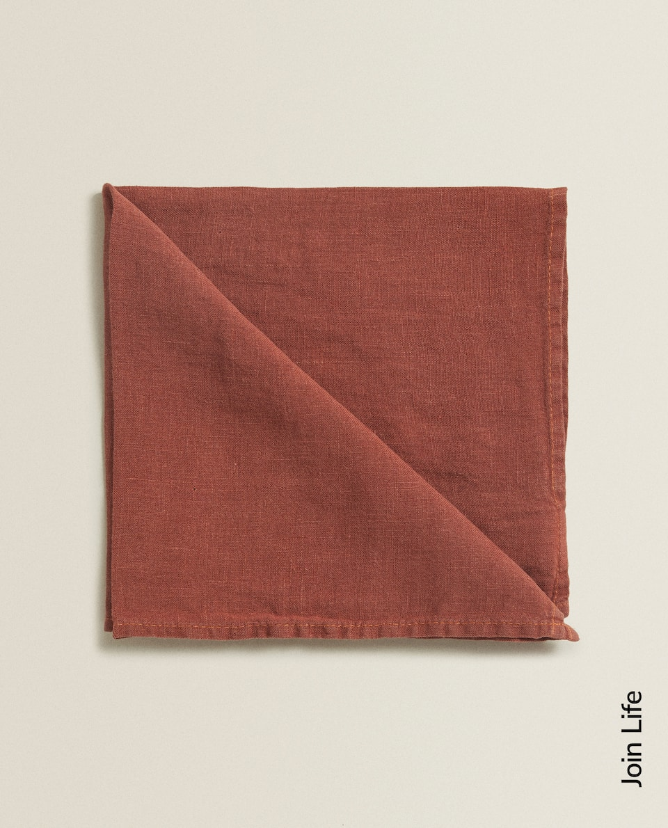 WASHED LINEN NAPKIN (PACK OF 2)