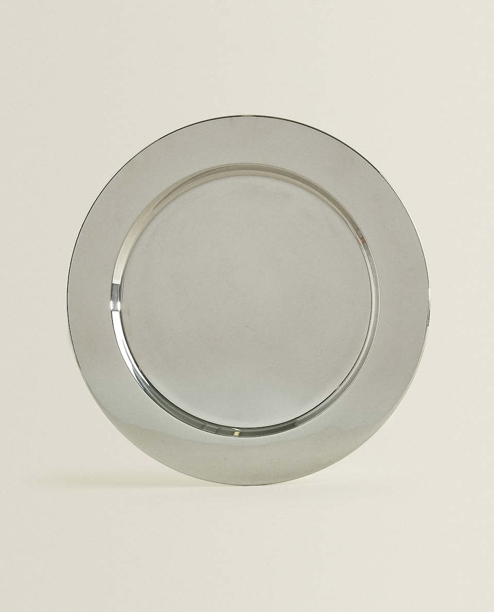 METAL CHARGER PLATE
