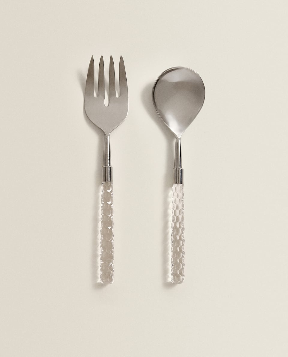 METAL SERVERS (SET OF 2)