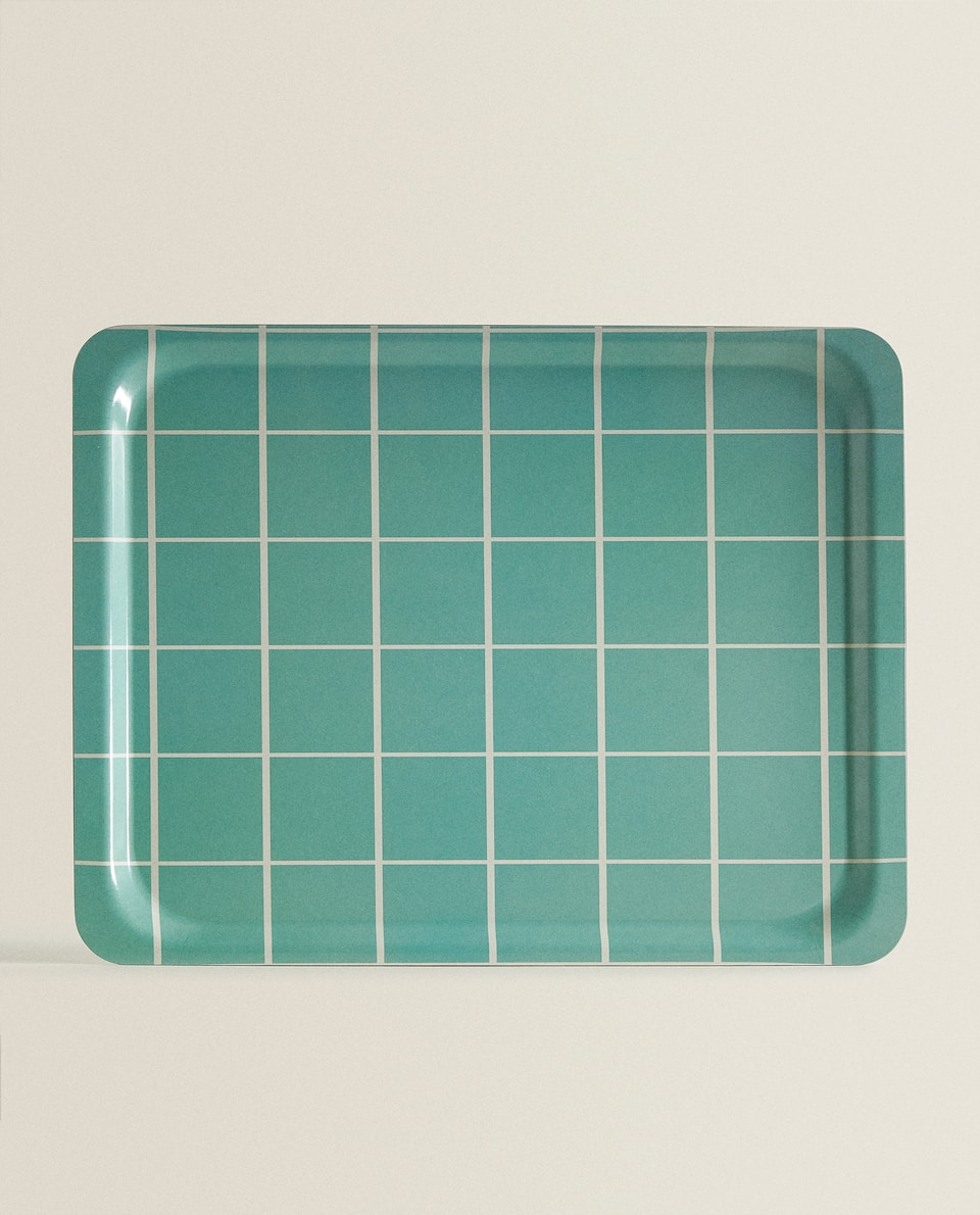 LARGE CHECK PRINT TRAY