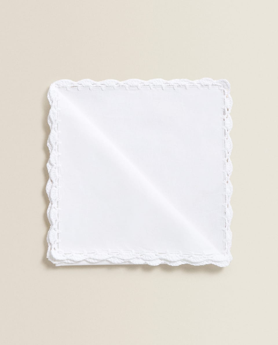 CROCHET COTTON NAPKIN