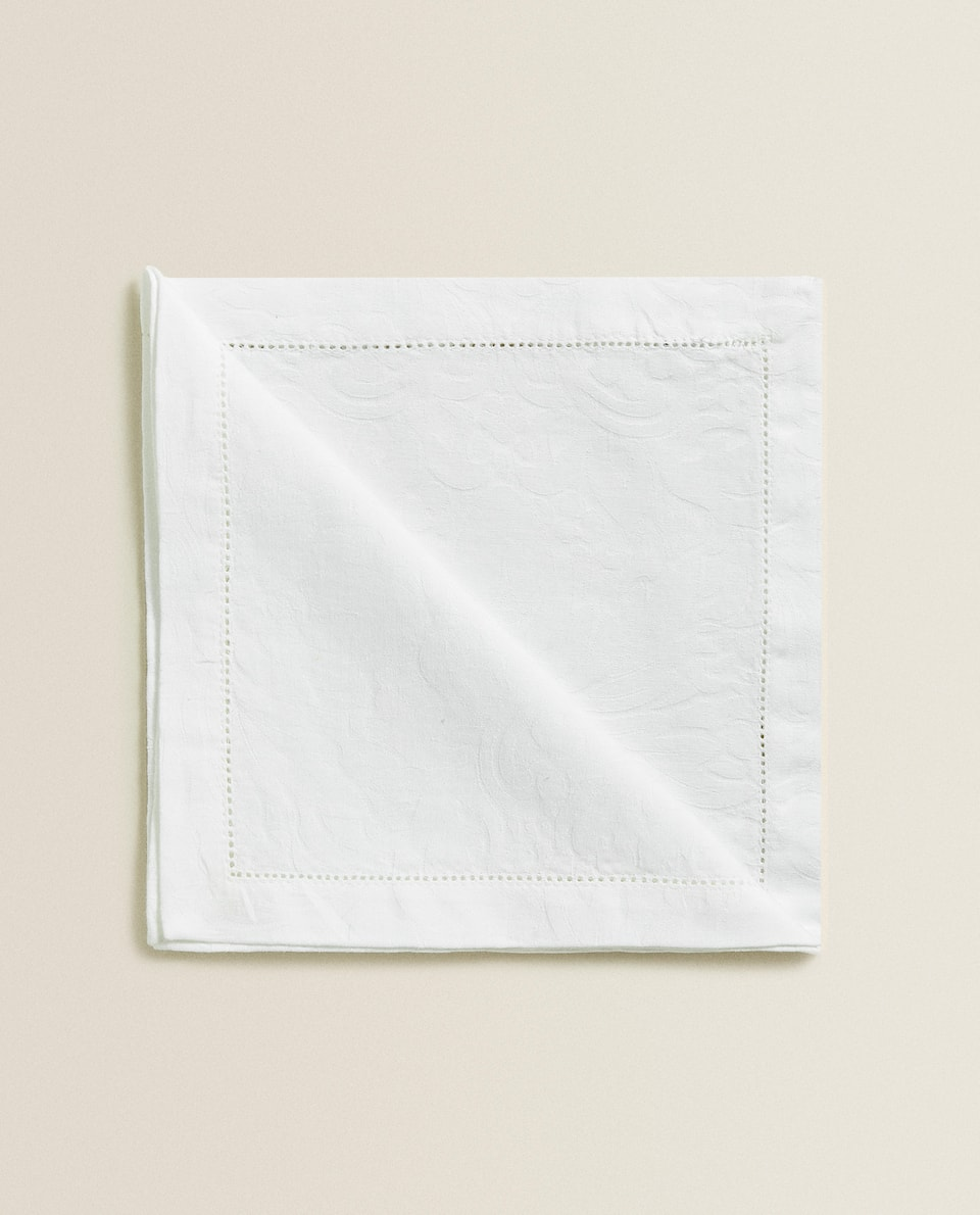 JACQUARD NAPKIN (PACK OF 4)