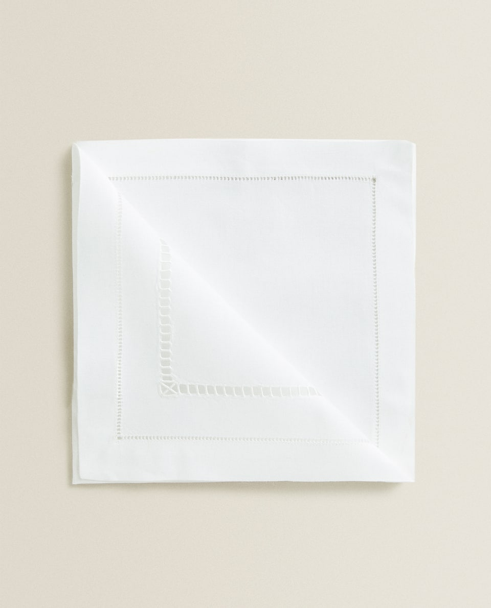 HEMSTITCHED NAPKIN (PACK OF 2)