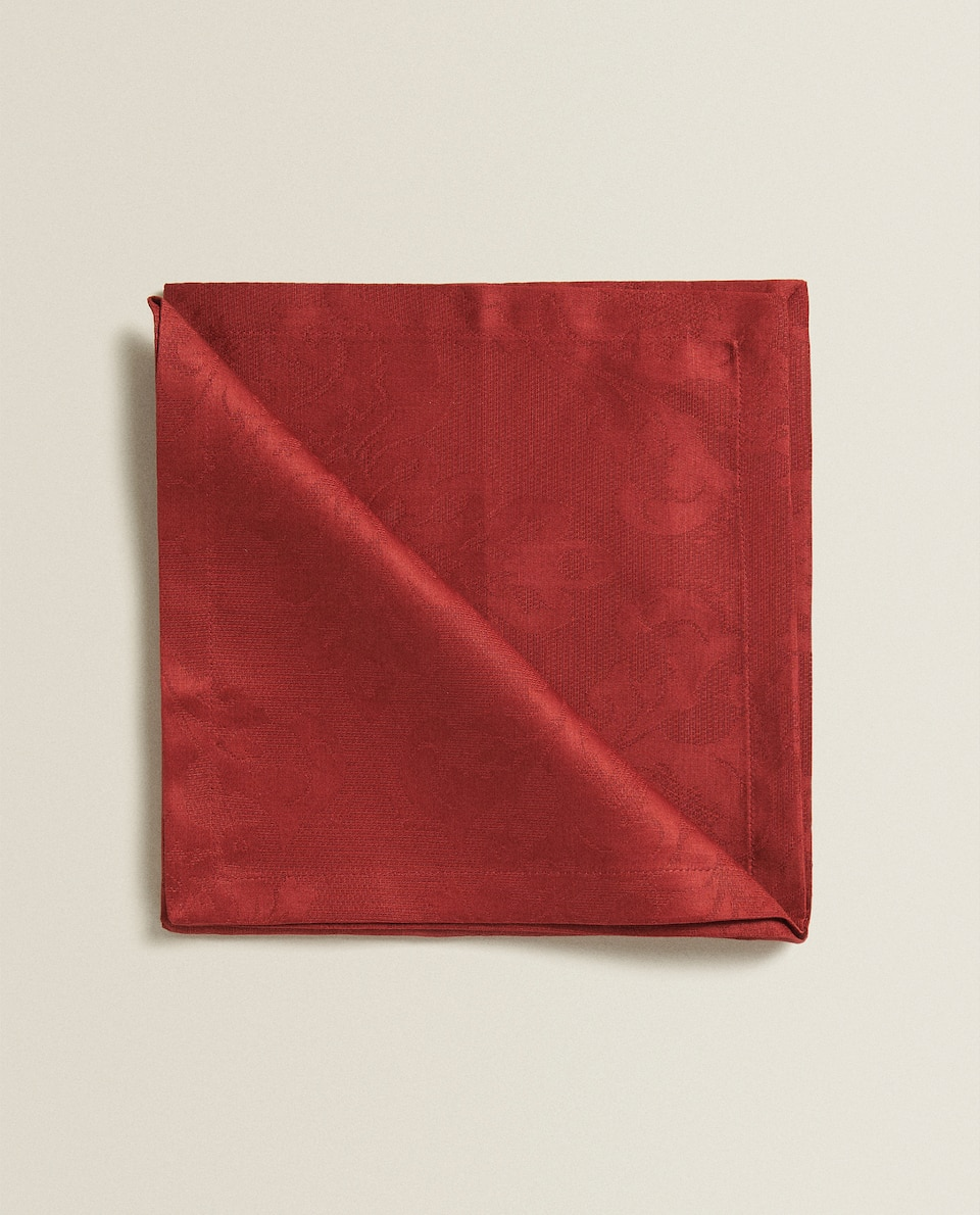 COTTON JACQUARD NAPKINS