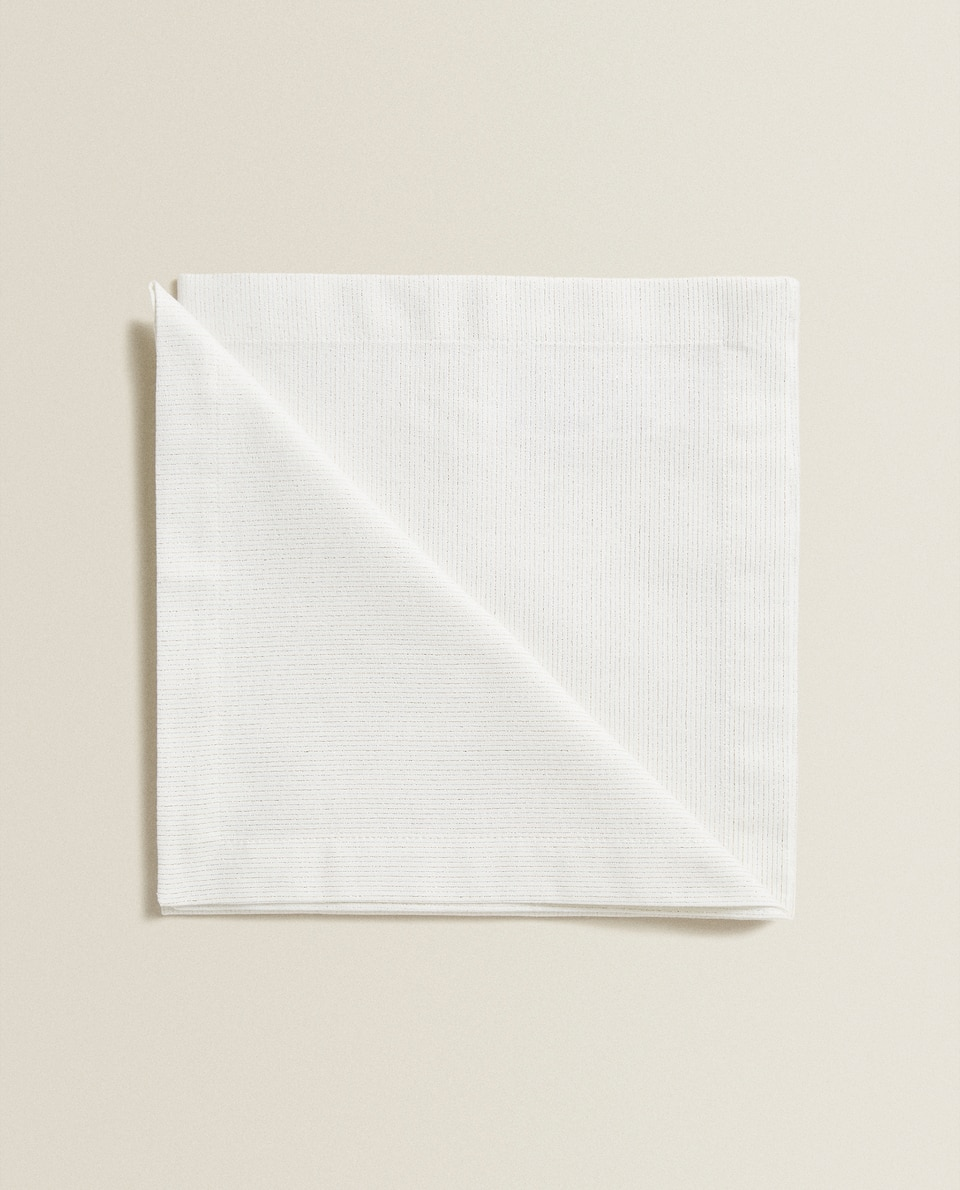 STRIPED COTTON NAPKINS (PACK OF 2)