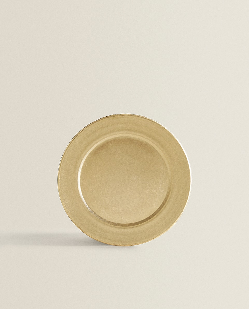SIDE PLATE WITH CURVED EDGE