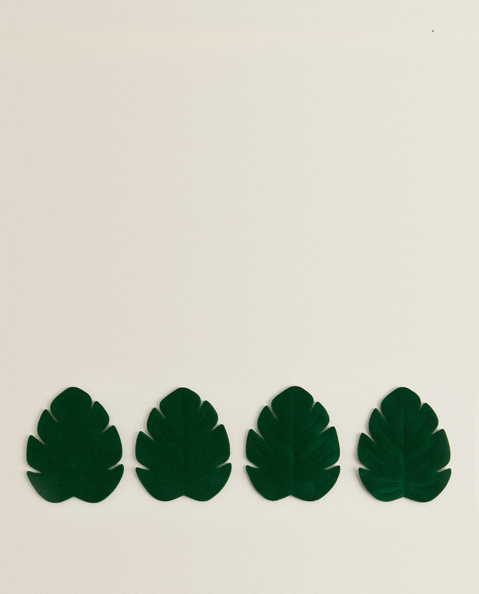 LEAF COASTER (PACK OF 4)