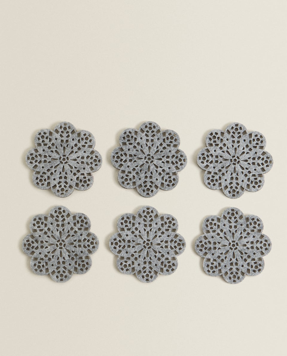 SNOWFLAKE COASTER (PACK OF 6)