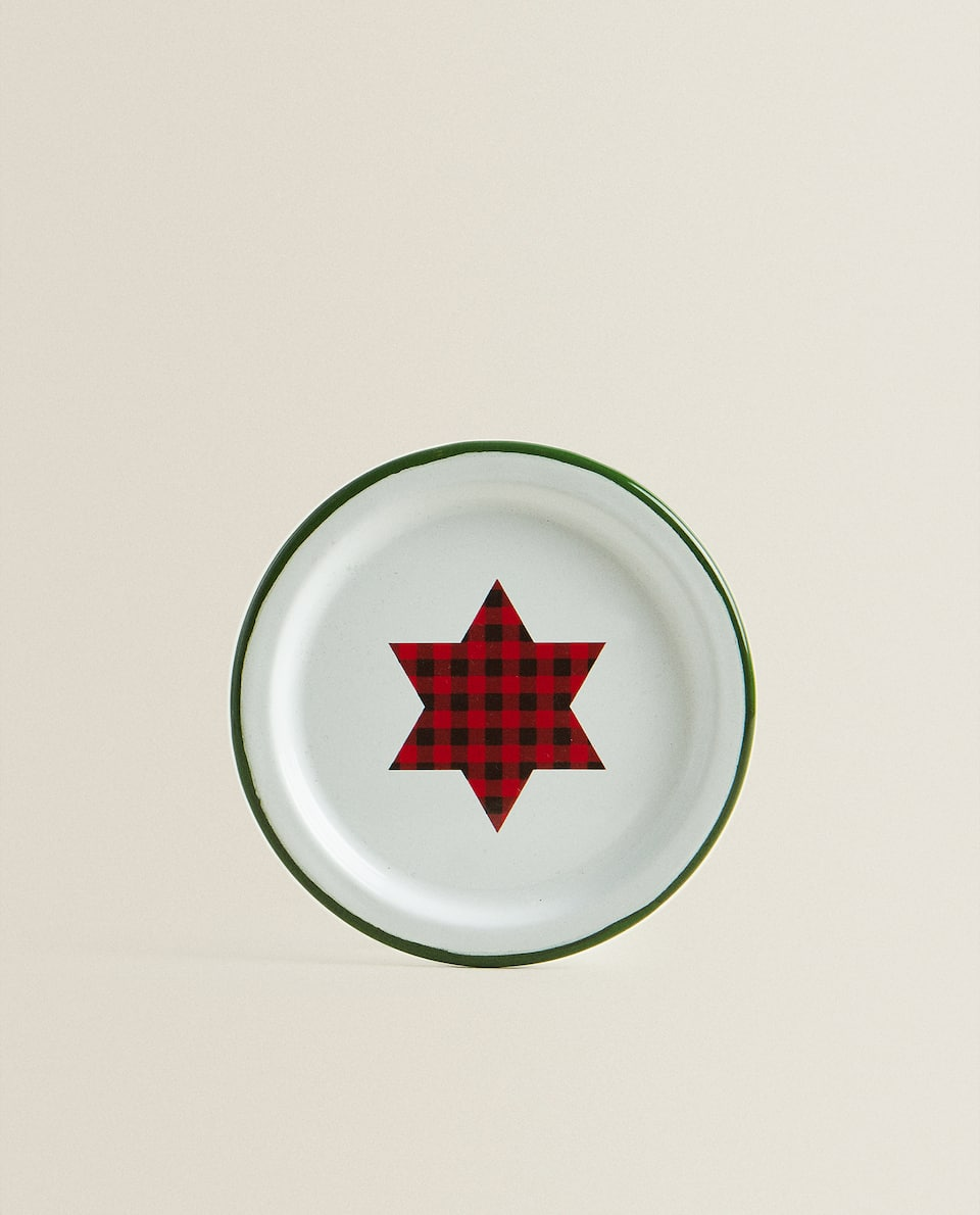 ENAMELLED SIDE PLATE